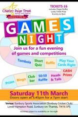 Games Night Poster by SpiralNet Design